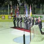 Veteranen beim Eishockey